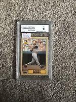 1987 Topps Barry Bonds ROOKIE RC #320 GMA 9 GEM MINT Baseball Card!!
