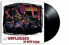 NIRVANA MTV Unplugged in New York (Live Recording) 180gm Vinyl LP NEW & SEALED