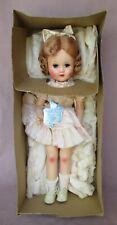 "Vintage 17"" Hard Plastic Horsman Bright Star Doll NMint In Box NMIB Beautiful!"
