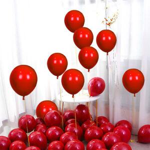 5pcs Red Double layer Latex Balloon Wedding Bachelorette Party Celebration Decor