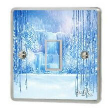 Frozen/Disney/ winter Light Switch Sticker Vinyl/Graphics/Decal/Skin Cover sw55