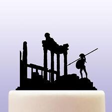 Acrílico civilización griega Cake Topper Decoración-Grecia Antigua Recuerdo Regalo