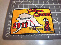 2017 Alaska Yukon Quest 1000 mile Dog Sled Race Embroidered Patch - dog team