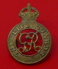 The Life Guards Regiment Metal Cap Badge Kings Crown