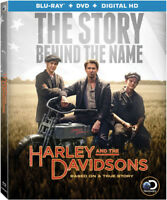 Harley And The Davidsons [New Blu-ray] With DVD, Boxed Set