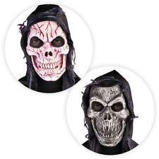Maschere nera in latex horror per carnevale e teatro