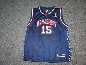 VINCE CARTER BASKETBALL JERSEY REEBOK YOUTH L STUNNING!