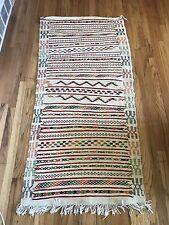 NEW Moroccan Rug Carpet Kilim Kelim Berber Handmade Wooven  Wool From Azilal