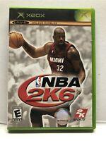 NBA 2K6 (Microsoft Xbox, 2005) Basketball - Complete Tested Working - Free Ship