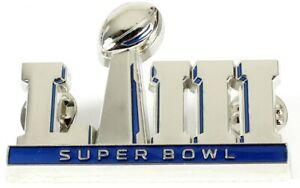 "Super Bowl LIII (53) Oversized 3-D Logo Jumbo Pin - 2"""