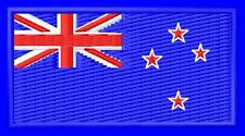 Flag of New Zealand embroidered iron-on patch Union Jack Southern Cross