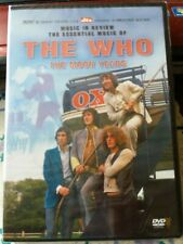 THE WHO DVD ..THE MOON YEARS ...NEW SEALED DVD