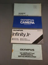 Olympus Infinity Jr 35mm Camera Instructions Manual Book & Papers