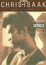 RARE / TICKET BILLET DE CONCERT - CHRIS ISAAK : LIVE A MARSEILLE ( FRANCE ) 1987