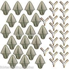 """20 x 36"""" Wholesale Carp Fishing Landing Net Metal Block Green Mesh Style NGT"""
