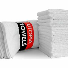 Utopia Towels Washcloths (24 Pack, 12 x 12 Inch) Pure Cotton Wash Cloth Highly
