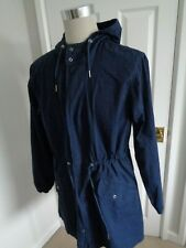 Penfield Navy Bailey Peacoat Cotton Parka Style Hooded Jacket size L