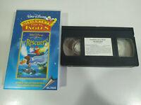 The Rescuers WALT DISNEY Buon Divertimento Con Inglese - VHS Nastro 3T