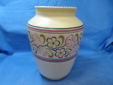 Poole Pottery Traditional Hand Painted Large Vase Decorative British    *dc12