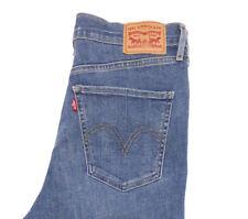 Women's LEVIS Mile High Super Skinny Jeans SIZE W30 L30 September Blue HIGH RISE