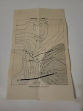 New listing 1952 Ft. Benning Army training map