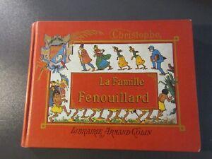 ENFANTINA-CHRISTOPHE-LA FAMILLE FENOUILLARD-ILLUSTRÉ-Relié-1988-VOYAGES