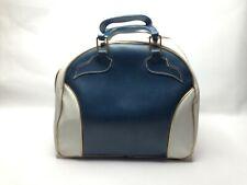 Mid Century Vintage Charles F. Clark U.S. Naugahyde Bowling Bag Rack for Shoes