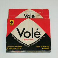 Vole Card Game 1983 Hoyle Products  Trick-Taking Card Game with 3 Suits