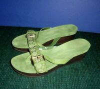 Women's Shoes - Sandals with Wedge Heel sz L(9) -Nine West