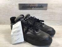 Men's Nike Drop-Type PRM N354 'Triple Black' Leather Sneakers CN6916-001 Size 11