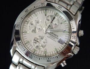 Working Citizen Adorex Chronograph Quartz Mens Watch reloj uhr montre Japan
