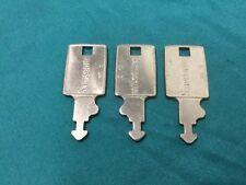 Samsonite 80S Luggage/Trunk Keys, Set of 3 - Locksmith