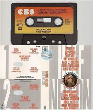 WILLIE NELSON cassette K7 tape HALF NELSON duets with neil young ray charles..