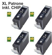 TINTE PATRONEN für CANON IP3300 IP3500 IP4200 IP5200R IP4300 IP4500 MP970 PGI5
