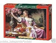 Puzzle 3000 DAMA W rozowej sukni igsaw Lady In Viola Abito CASTORLAND * jbook