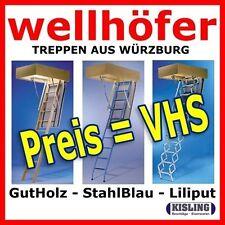 Escalier en Bas Liliput de Wellhöfer Dachbodentreppen pour Petit Ouvertures avec