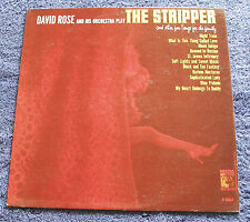 David Rose Orch. 1962 MGM Mono LP The Stripper & Other Fun Songs For The Family
