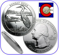 2015 Bombay Hook DE 5 oz Silver America the Beautiful (ATB) Coin in airtite