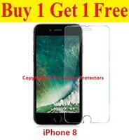 100% Genuine Tempered Glass Screen protector protection Film Apple iPhone 8