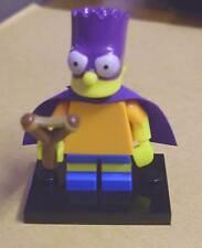 LEGO la figura SIMPSONS-BART BARTMAN (con maschera, centrifuga e Cape the) NUOVO