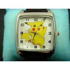 WHOLESALE NEW Pokemon Pikachu Child Kids Boy Men Girls Fashion Wrist Watch