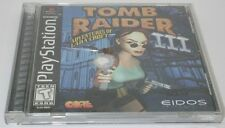 Playstation 1 PS1 Tomb Raider 3 Adventure of Lara Croft R12833
