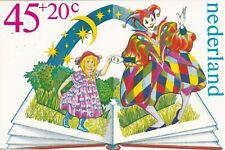 Netherlands 1980 45+20c Kinderpostzegel Maximum Card Unused VGC