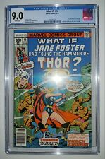 What If #10 CGC 9.0 White Pages - 1st Jane Foster Thor