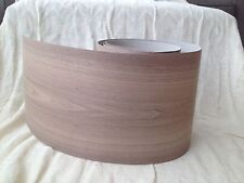 Iron on Pre Glued Walnut Real Wood Veneer Sheet  2540mm x 250mm