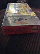 NIB Vintage Wall Street Board Game 1986 Thomas Games Investments Sealed New