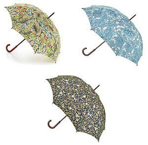 Morris & Co Fulton Kensington-2 Ladies Designer Walking Umbrella Various Design