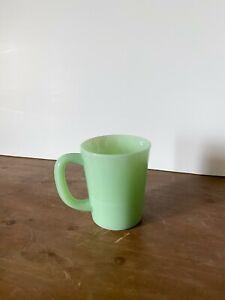 NEW Mosser Glass Coffee/Tea Mug in Jade Milk Glass- Vintage Inspired