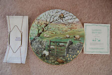 Peter Barrett All Creatures Great & Small April Lambing Pastures Plate 1987