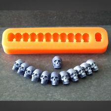 Silikonform Totenkopfkette Totenkopf Halloween Silikon Mould Fondant Tortendeko